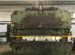 Htc 200 Hydraulic Press Brake With Tooling