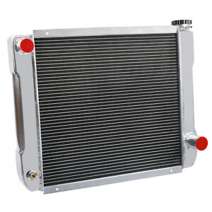 Chevy gm style 24 x19 Universal 2 Row Full Aluminum Racing Radiator Heavy Duty