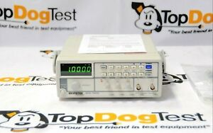 Gw Instek Sfg 1003 3mhz Dds Function Generator New And Calibrateed