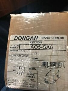 Dongan Ignition Transformer A05 sa6 120 Primary 60hz