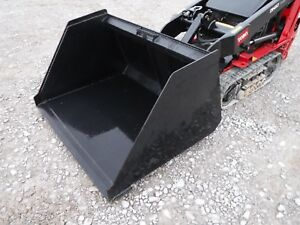 Toro Dingo Mini Skid Steer Attachment 48 Smooth Mulch Bucket New Ship 149
