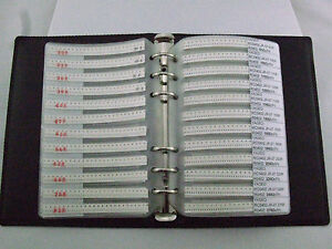 0402 Smd Resistor Assortment Book Kit Component Folder 170values X 50pcs