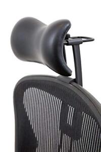 Atlas Headrest For Herman Miller Aeron Chair Synthetic Leather