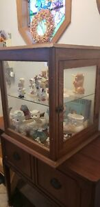 Antique General Store Display Case Showcase All Original Finish