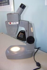 American Optical Ao Forty Inspection Stereo Microscope With Lamp