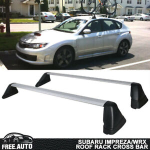Fits 08 14 Subaru Impreza Wrx Sti Oe Style Roof Rack Cross Bar Pairs
