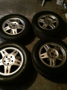 Mercedes G500 Oem Wheels And Tires