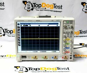 Hp Agilent Keysight Mso9104a Mixed Signal Oscilloscope 1ghz 4 Analog Plus16dig