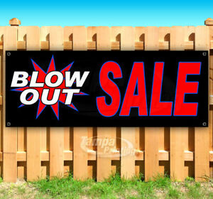 Blow Out Sale Advertising Vinyl Banner Flag Sign Many Sizes