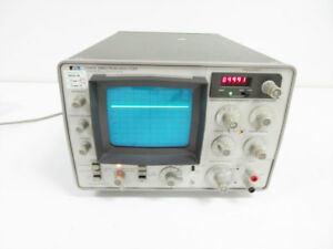 Hp 3580a 50 Khz Spectrum Analyzer
