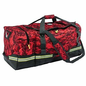 Ergodyne Arsenal 5008 Firefighter Turnout Gear And Safety Duffel Bag red Camo
