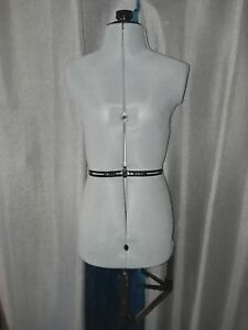 Adjustable Sewing Dress Form Female Mannequin Torso Stand Small Size