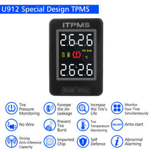Car Auto Tpms Tire Tyre Pressure Monitoring System 4 Sensors For Toyota Ma1759