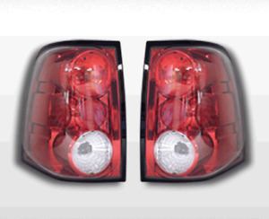 Fits 2003 2006 Ford Expedition Oe Style Red Tail Lights Rear Brake Lamps Pair