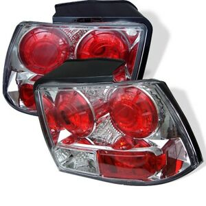 1999 2004 Ford Mustang Euro Style Tail Lights Chrome