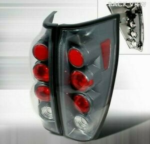 Chevy Avalanche 2002 2003 2004 2005 2006 1500 2500 Carbon Fiber Euro Tail Lights