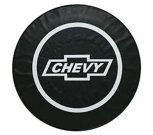 15 Spare Tire Cover Chevy Black Heavy Duty Vinyl Tire Cover fits Chevy