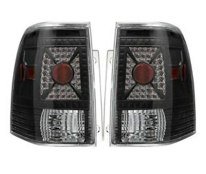 03 06 Ford Expedition Led Look Black Tail Light