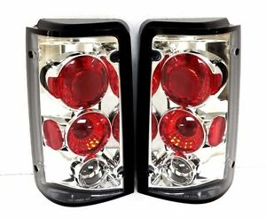 For Ford Aerostar 1985 1997 Chrome Euro Tail Lights