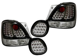 For Lexus Gs300 Gs400 Gs430 1998 2005 Led Look Tail Trunk Lights Black