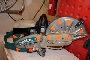 Makita Dpc7311 W h20 Hook Up 14 Inch Concrete Cut Off Saw Low Hours