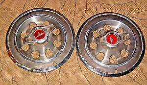 3 Buick Special Skylark 14 Spinner Hub Caps 2 For 1965 1 For 1966