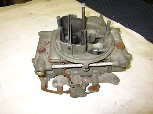 Used Ford 5752624 Holley Carburetor 1958 61 Thunderbird Lincoln Mercury Turnpike