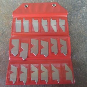 Spi 31 375 9 Stainless Steel Angle Gage Complete Set 18 Pieces o3