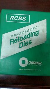 RCBS OLD BOX FL DIE SET 222 REM