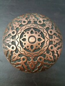 Beautiful Antique Brass Bronze Door Knob Victorian Eastlake Russell Erwin K11100