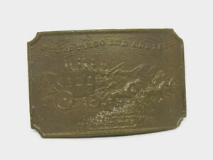 Bronze Paper Weight Wells Fargo Advertising By Tiffany New York