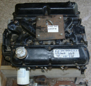 Ford 302 Short Block With 4 Bbl Intake Used