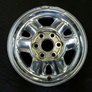 16 Inch Gmc Sierra 1500 Pickup Yukon Xl 1999 2003 Polished Oem Wheel Rim 5095