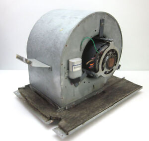 Emerson 1 2hp Squirrel Cage Centrifugal Fan Blower Direct drive 1 ph 460v 3 spd