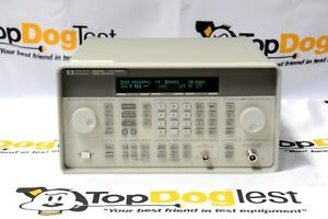 Hp Agilent Keysight 8648b 1ea Synthesized Signal Generator 9 Khz 2000 Mhz Opt