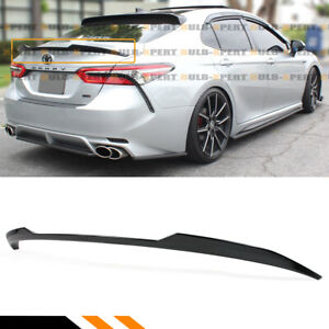 For 18 19 Toyota Camry Se Xse Le Xle Glossy Blk M4 Style Trunk Lid Spoiler Wing