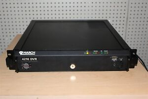 March Networks Dvr 4210 Cctv Digital Video Recorder 16 Cameras Channel Inputs