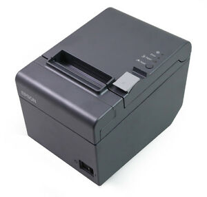 Tm t20 023 Epson Thermal Receipt Printer Ethernet Interface Dark Grey new