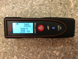 Leica Disto E7100i 200ft Laser Distance Measure With Bluetooth W Free Shipping