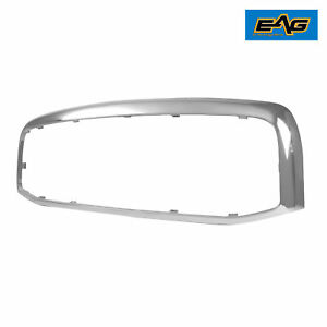 2006 2007 2008 Dodge Ram 1500 Upper Grille Shell Glossy Chrome Abs Plastic Shell