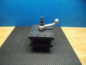 Professional Turret Tool Post For 16 24 Lathe Swing 6 1 2 Base Width