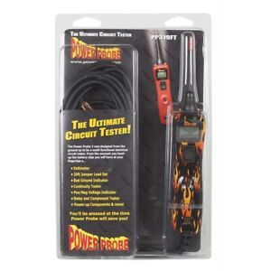 Power Probe Iii Circuit Tester Fire Clam Shell Pprpp3csfire Brand New