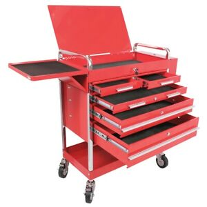 Professional Duty 5 Drawer Service Cart Sun8045 Brand New