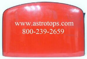 Corvette Roof 1984 86 Early Red Fiberglass Top Targa T Top