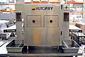 Autofry Mti 40c Ventless Dual Fryer System