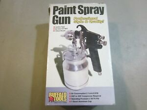 Buffalo Tools Paint Spray Gun Model Psg1qbx Free Shipping