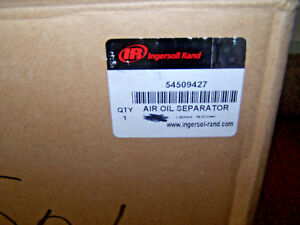 Ingersoll Rand Genuine Oem 54509427 Air Oil Separator For Compressors Filter New