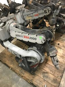 Yaskawa Motoman Ssa2000 Nx100 Welding Robot Arms 4 Sold As A Lot
