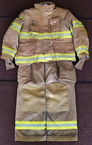 Janesville Isodry Firefighter Turnout Bunker Gear Super Condition