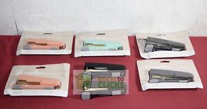 Swingline Compact 20 Sheet Stapler W built In Staple Remover Lot X7 no Staples
